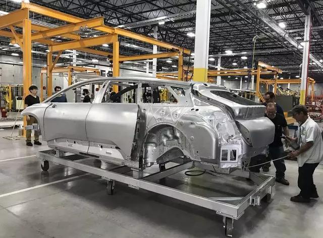 FF提前完成白车身打造,贾跃亭离量产梦又近了一步