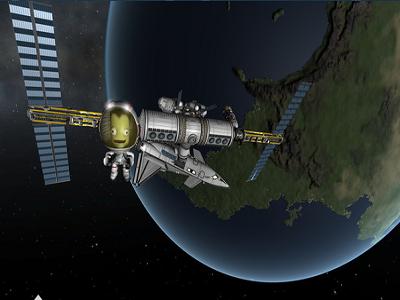 Steam特惠:无人看好的小游戏却成标杆 坎巴拉太空计划究竟有何魔力