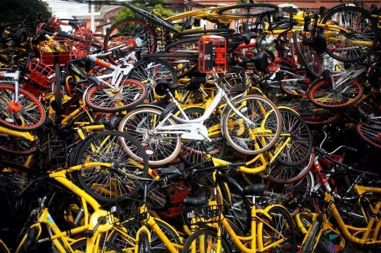 共享单车坟场:疯狂发展的后遗症