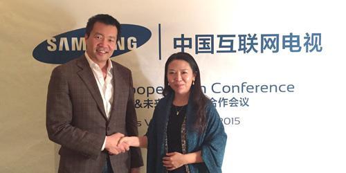 中国互联网电视海量优质内容进驻三星智能电视