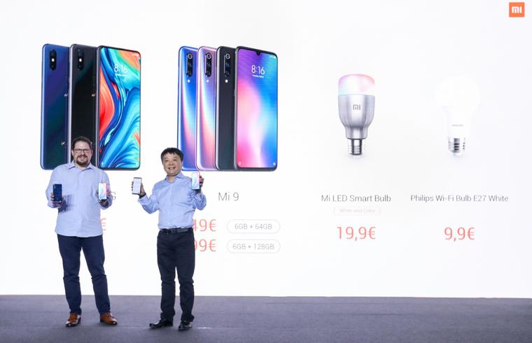 小米近百款生态链产品亮相MWC 2019 旗下首款5G手机发布