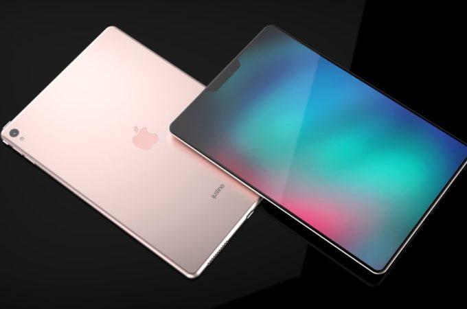 苹果10.5寸iPad X概念美图:95%屏占比 亮屏后震撼