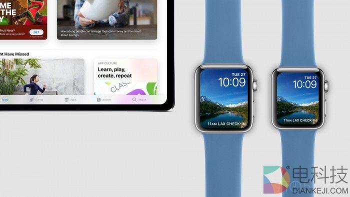 11 英寸 iPad Pro 和 Apple Watch S4 效果图欣赏