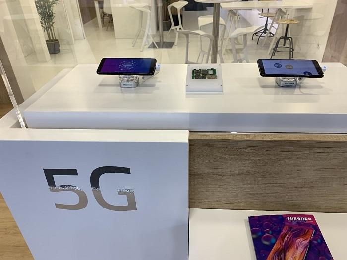 海信5G手机亮相2019MWC,计划今年上市