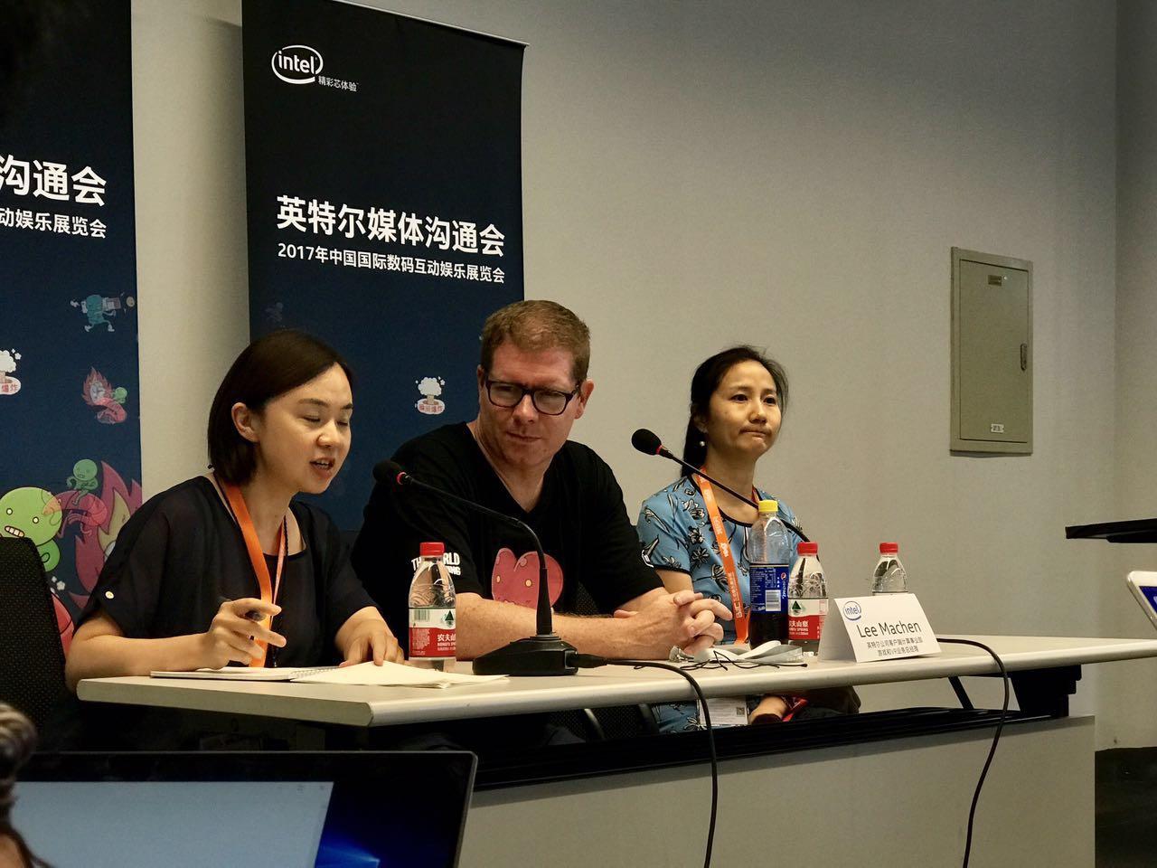 英特尔游戏和VR业务总经理Lee Machen:中国开发者水平不弱于世界其他任何地方