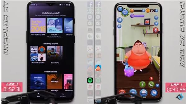 10G内存安卓旗舰挑战iPhone XS Max:流畅度败北