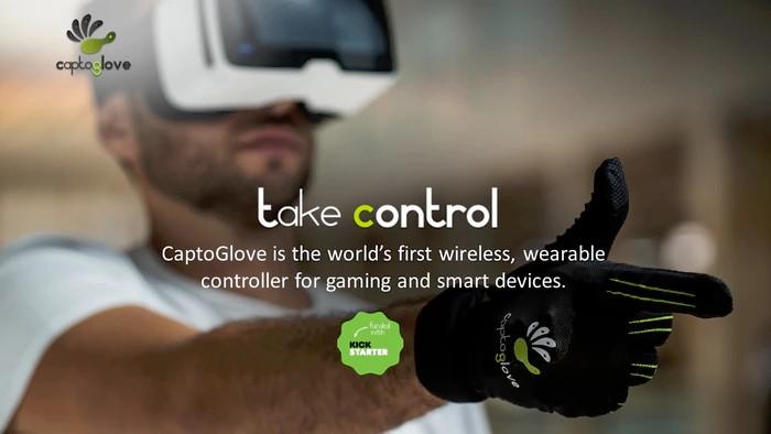 据说这是世界首款VR无线手套控制器