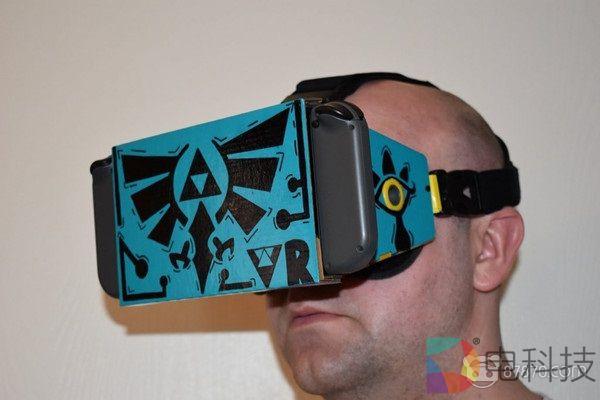 DIY玩家自制任天堂Labo VR固定头带