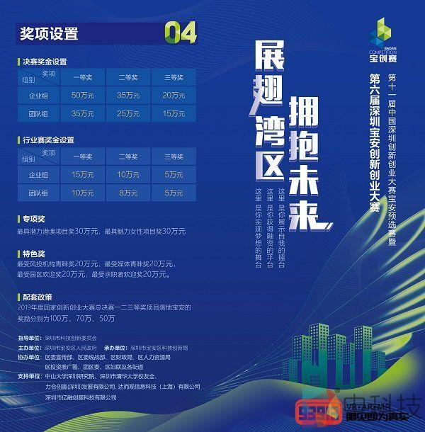 2019年第六届宝安区创业创新大赛火热报名中