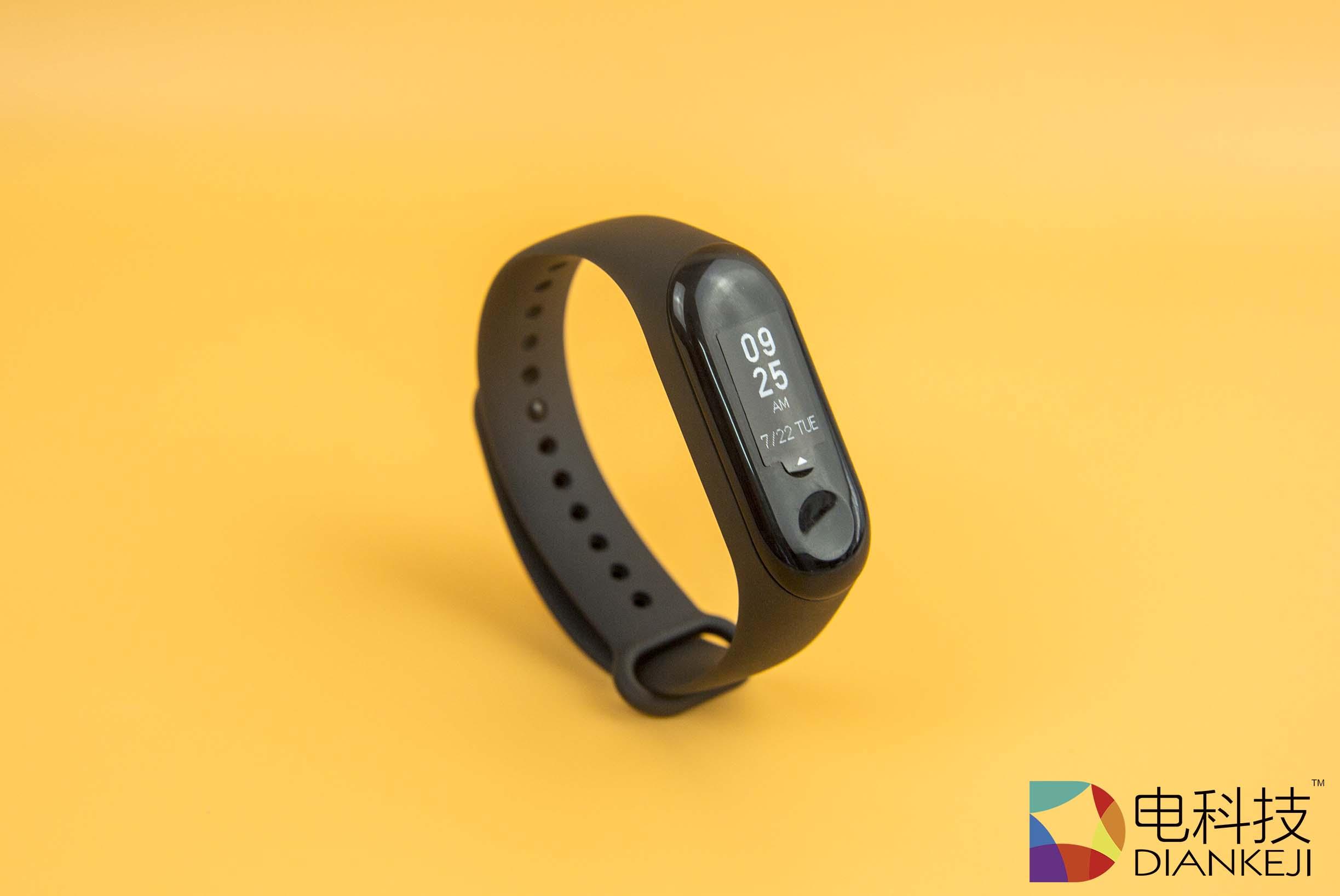 小米手环3:你可以将它看成是一款169元续航10天的简化版智能手表