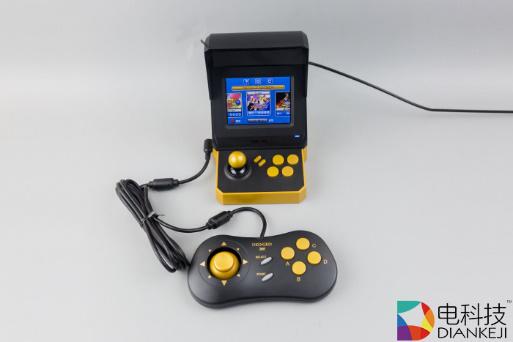 NEOGEO MINI游戏机:能装进口袋的街机,内置40款游戏,支持双人畅玩